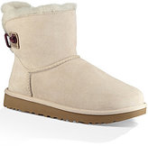UGG Adoria Tehuano Suede Perforated & Woven Leather Back Booties