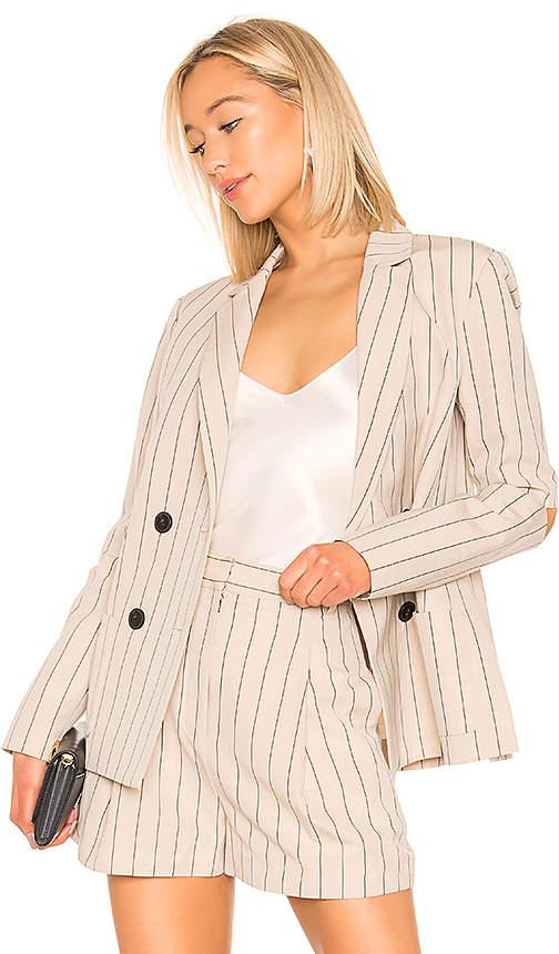 Tibi Tropical Suiting Blazer
