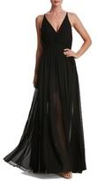Dress the Population Women's Lana Chiffon Gown