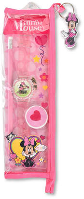 DISNEY PRINCESS Disney Minnie Mouse Girls Pink Strap Watch-Mn40009jc