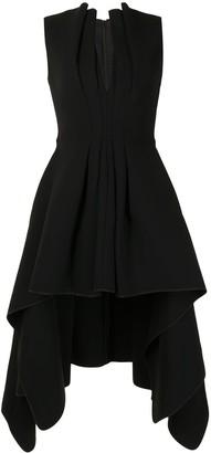 Maticevski Inhibit high-low dress