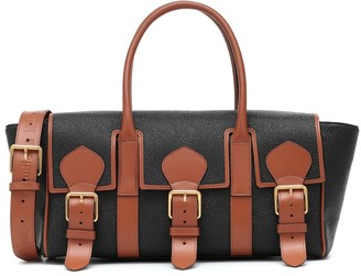 Acne Studios x Mulberry Buckle Bayswater leather shoulder bag