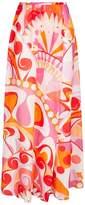 Emilio Pucci Wrapped Maxi Skirt