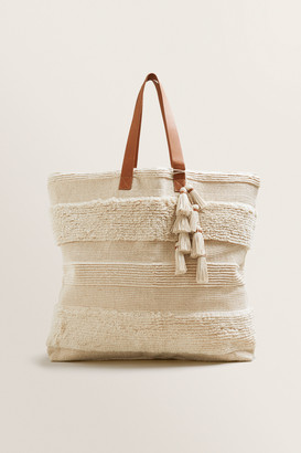 Seed Heritage Oversized Textured Tote
