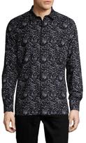 Antony Morato Cotton Long Sleeve Printed Sportshirt