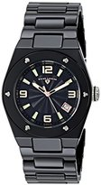 Swiss Legend Women's 10054-BKBTRA Throttle Analog Display Swiss Quartz Black Watch