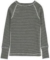 Nui Striped Organic Merino Wool T-Shirt