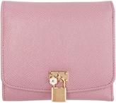 Dolce & Gabbana Pink Flap Wallet