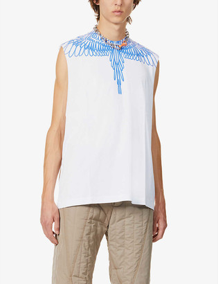 Marcelo Burlon County of Milan Wings graphic-print cotton-jersey vest