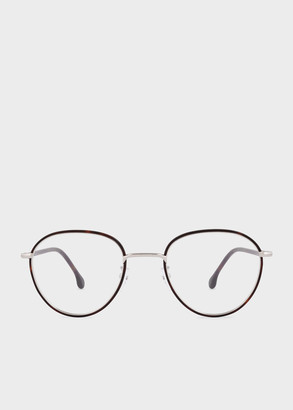 Paul Smith Tortoise And Silver 'Albion' Spectacles