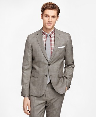 Brooks Brothers Plaid with Deco Suit Jacket