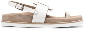 Del Carlo Toe Strap Sandals