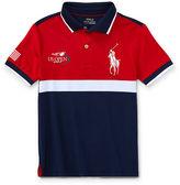 Ralph Lauren 2-7 Us Open Ball Boy Polo Shirt