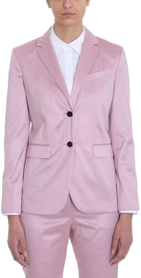 11e170f112 Pink Cotton Blazer - ShopStyle