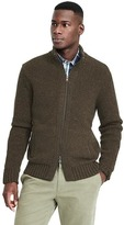 Banana Republic Tweed Jersey Full Zip