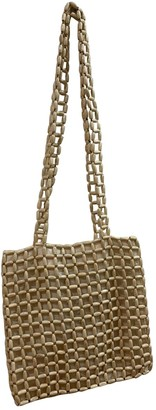 Paloma Wool Beige Wicker Handbags