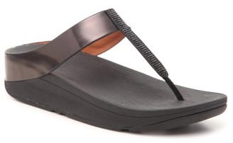 FitFlop Fino Crystal Wedge Sandal