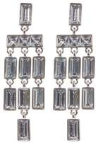 Vince Camuto Faceted Crystal Statement Chandelier Earrings