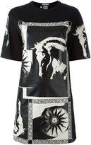 Fausto Puglisi horse print oversized T-shirt