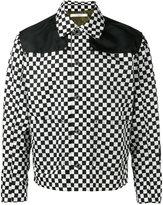 Givenchy checkered bomber jacket
