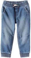 Joe Fresh Toddler Boys' Pull On Jean, Medium Wash (Size 4)