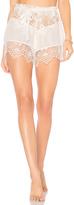 For Love & Lemons Caracas Lace Shorts