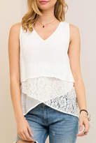 Entro Layered Lace Tank