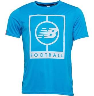 New Balance Mens Elite Tech Graphic Logo T-Shirt Polaris
