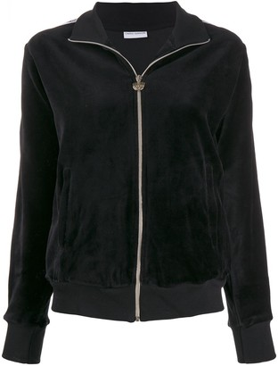 Chiara Ferragni Plain Zipped Jacket