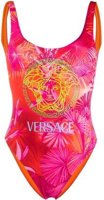Versace Jungle Print Swimsuit