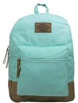 Dickies Women's Solid Pastel Canvas Backpack Handbag