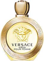 Versace Eros Pour Femme Eau de Toilette, 3.4 oz