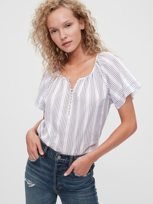 Gap Button-Front Top