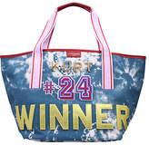 Kurt Geiger Daisy Shopper Bag, Mid Blue