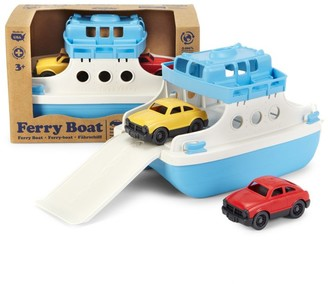Green Toys Ferry Boat & Mini Cars Toy Set