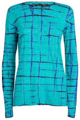 Proenza Schouler Cotton Tie-Dye Blouse