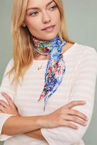 Anthropologie Carnation Silk Kerchief Scarf