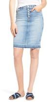 Hudson Women's Denim Pencil Skirt