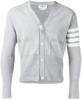 Thom Browne V-neck cropped cardigan