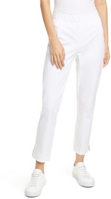 Eileen Fisher Slit Hem Ankle Pants