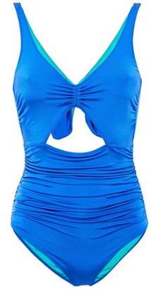 Stella McCartney Cutout Ruched Swimsuit