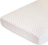 Nurseryworks Nursery works organic cotton percale sheet- confetti