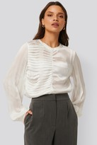 NA-KD Pleated Detail Blouse