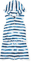 Ralph Lauren 7-16 Striped Cotton Jersey Romper