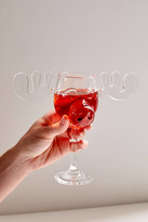 Urban Outfitters Marty Moose Wine Glass