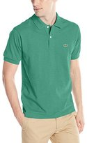 Lacoste Men's Short Sleeve Classic Chine Fabric L.12.64 Original Fit Polo Shirt