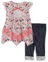 Little Lass Baby Girl's Two-Piece Tunic and Capri Set