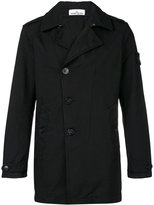 Stone Island double breasted coat - men - Polyamide/Polyester - M