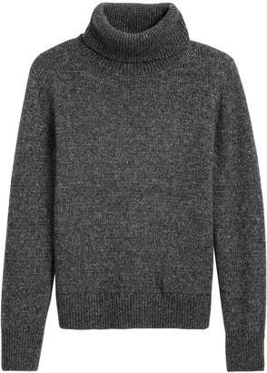 Banana Republic Petite Merino-Blend Turtleneck Sweater