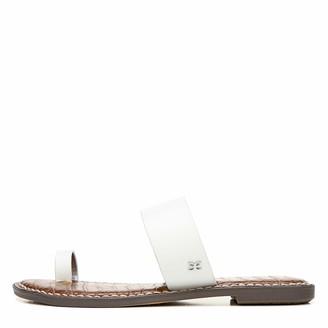 Sam Edelman Womens Gorgene Slide Sandal Bright White 9 W